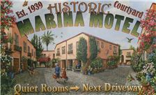 Marina Motel - MM Mural Large