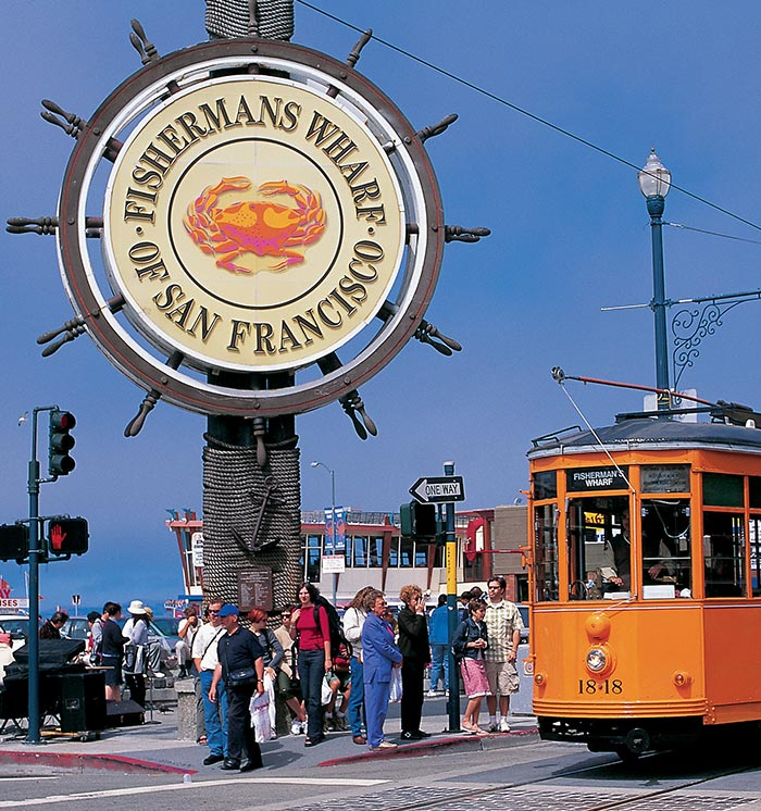 Fisherman's Wharf at San Francisco, California